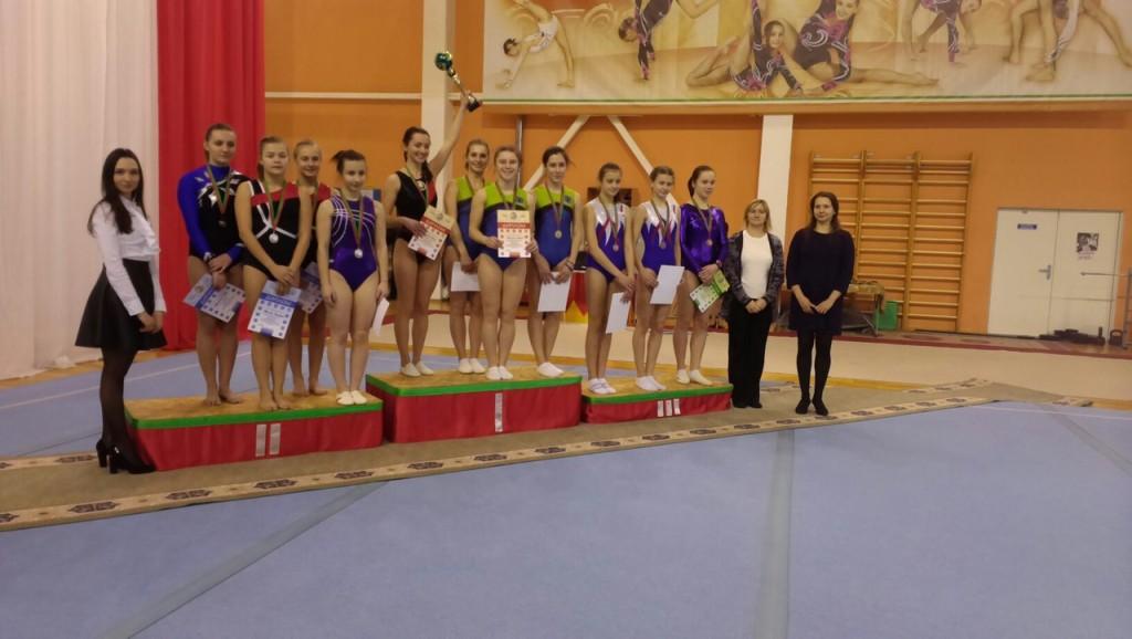 Чемпионат РБ по прыжкам на акробатической дорожке