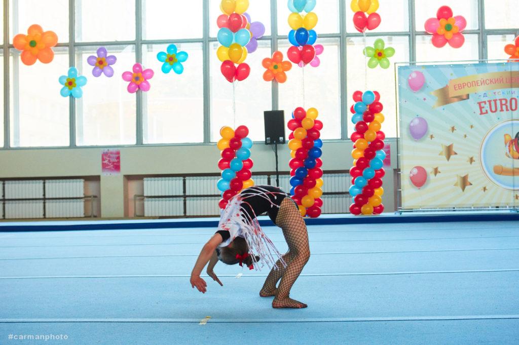 Гимнастика для детей на Сурганова - Дворец водного спорта